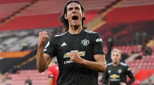 Cavani a fost eroul lui Manchester United în deplasarea de la Southampton, scor 2-3
