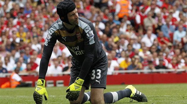 Petr Cech a gresit decisiv in primul sau meci de campionat pentru Arsenal