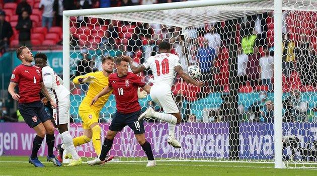 Sterling a marcat unicul gol al meciului Cehia - Anglia 0-1 din grupele EURO 2020