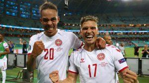 Danemarca a trecut cu 2-1 de Cehia în sferturile EURO 2020