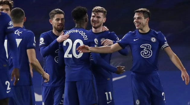 Timo Werner, marcator în meciul Chelsea - Newcastle 2-0