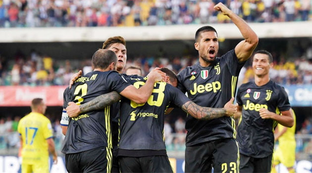 Chievo - Juventus 2-3, 18 august 2018