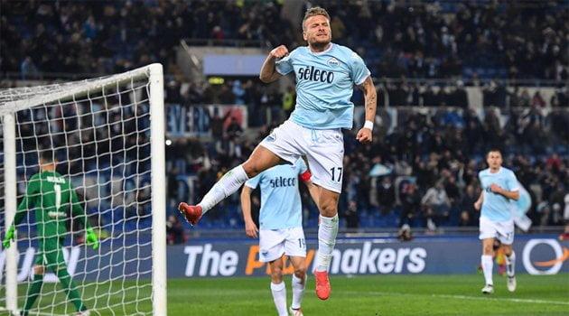 Ciro Immobile a marcat două goluri în meciul Lazio - Verona 2-0