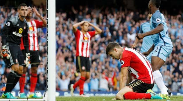 Manchester City - Sunderland 2-1 în prima etapă din Premier League 2016-2017