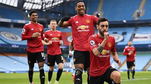 Manchester City - Manchester United 0-2, 7 martie 2021