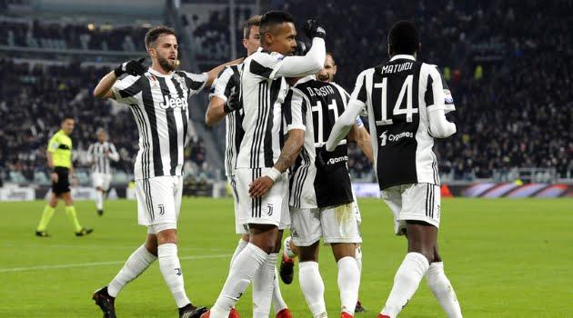 Douglas Costa a marcat unicul gol al meciului Juventus - Genoa 1-0