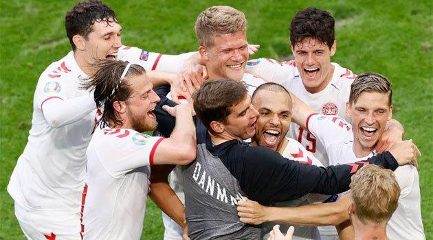 Danemarca a trecut cu 4-0 de Țara Galilor în optimile EURO 2020