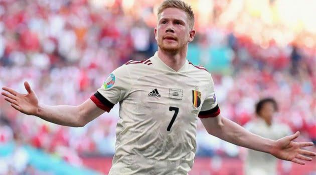 Kevin de Bruyne, decisiv în meciul Danemarca - Belgia 1-2 de la EURO 2020