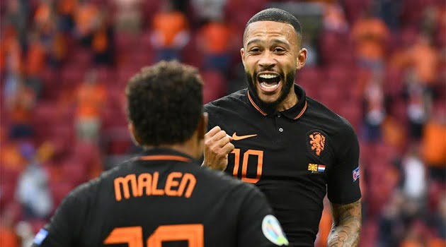 Depay, gol și două assisturi în meciul Macedonia - Olanda 0-3 de la EURO 2020