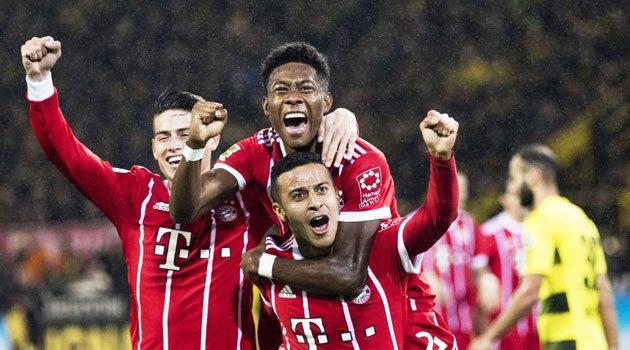 Bayern a câștigat cu 3-1 clasicul Germaniei pe terenul Borussiei Dortmund