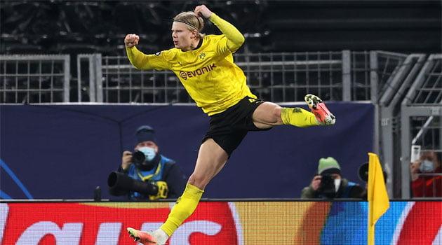 Haaland, eroul lui Dortmund în meciul cu Sevilla (scor 2-2)
