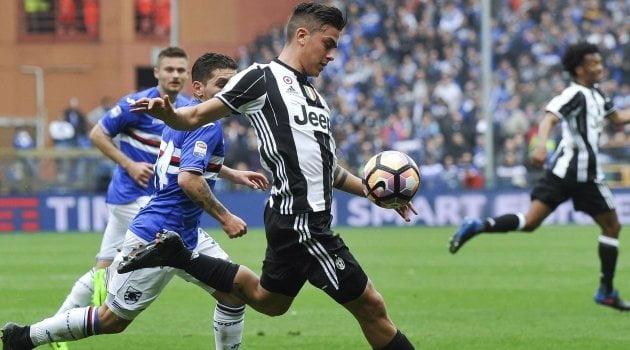 Paulo Dybala (Sampdoria - Juventus 0-1, 19 martie 2017)