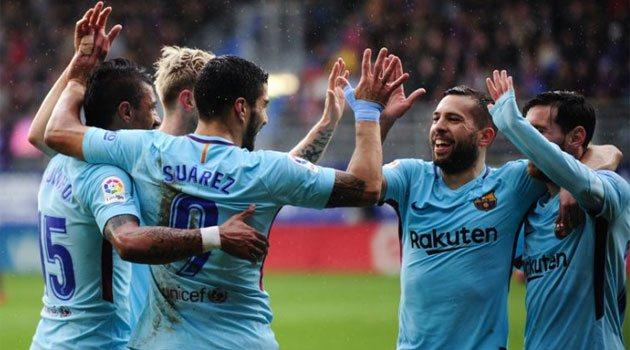 Eibar - Barcelona 0-2, 17 februarie 2018