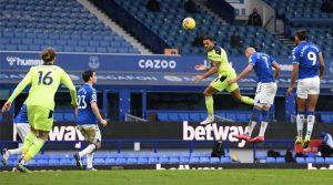 Callum Wilson, în meciul Everton - Newcastle 0-2 (30 ianuarie 2021)