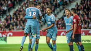 Radamel Falcao a marcat două goluri în meciul Lille - Monaco 0-4