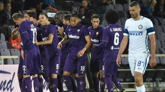 Fiorentina - Inter 5-4 (22 aprilie 2017)