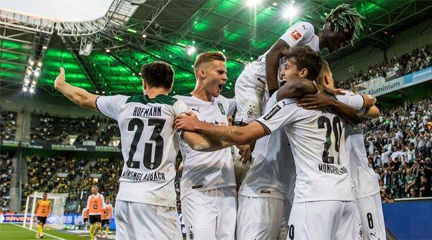 Borussia Monchengladbach a trecut de Dortmund cu 1-0 în etapa 6 din Bundesliga