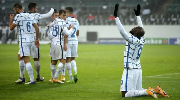 Borussia Monchengladbach - Inter 2-3, grupele Champions League 2020-2021
