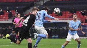 Bernardo Silva a marcat cu capul în meciul Borussia Monchengladbach - Manchester City 0-2