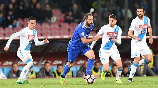 Napoli - Juventus 1-1 (2 aprilie 2017)