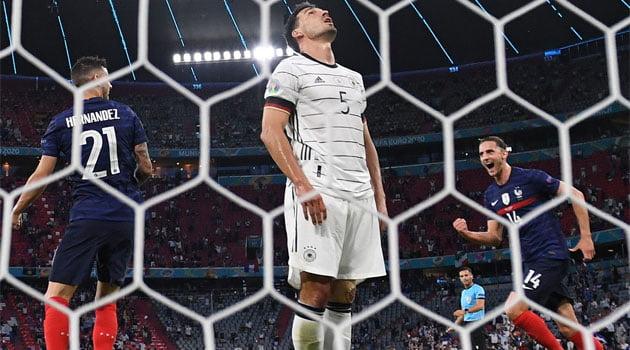 Autogolul lui Mats Hummels a decis meciul Franța - Germania 1-0 din grupele EURO 2020