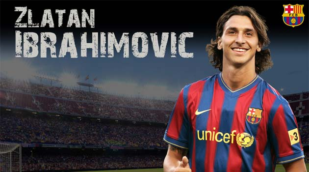 Zlatan Ibrahimovic, FC Barcelona