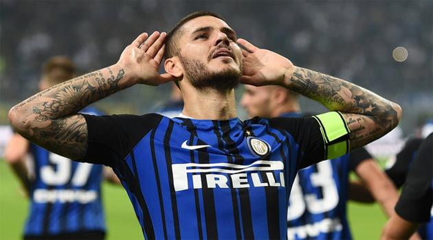 Mauro Icardi a reuşit un hattrick în meciul Inter - AC Milan 3-2