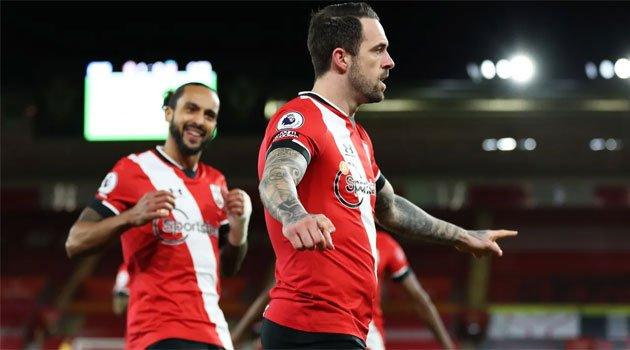 Danny Ings a marcat unicul gol al meciului Southampton - Liverpool (4 ianuarie 2021)