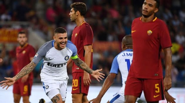 AS Roma - Inter Milan 1-3 (Serie A, 26 august 2017)