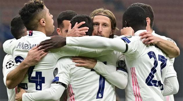 Real Madrid a câștigat meciul de la Milano cu Inter, scor 2-0 (noiembrie 2020)