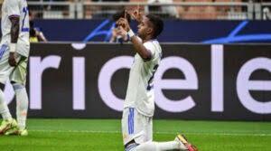 Rodrygo, autorul unicului gol în meciul Inter - Real Madrid 0-1 din grupele Champions League 2021-2022