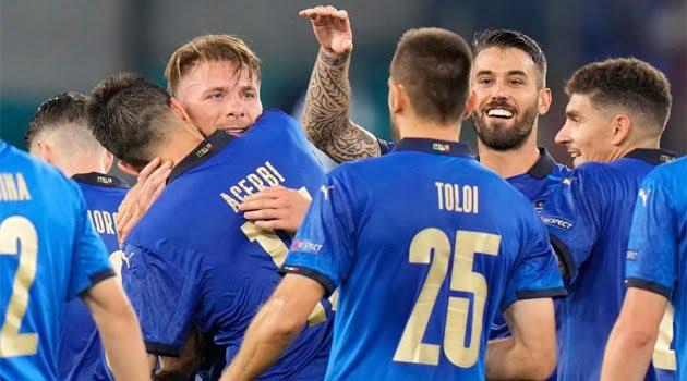Italia - Elveția 3-0 la EURO 2020