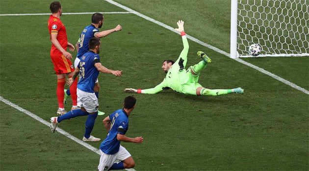 Italia a învins Țara Galilor și și-a câștigat cu maxim de puncte grupa de la EURO 2020