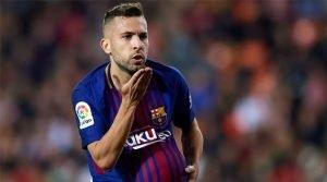 Jordi Alba a marcat ultimul gol al meciului Valencia - Barcelona 1-1