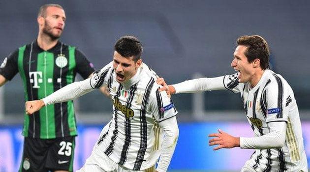 Juventus - Ferencvaros 2-1 (noiembrie 2020)