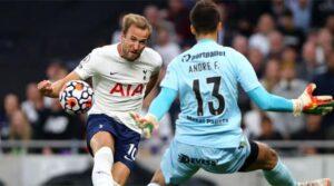 Harry Kane a marcat împotriva lui Paços de Ferreira primele sale goluri în sezonul 2021-2022