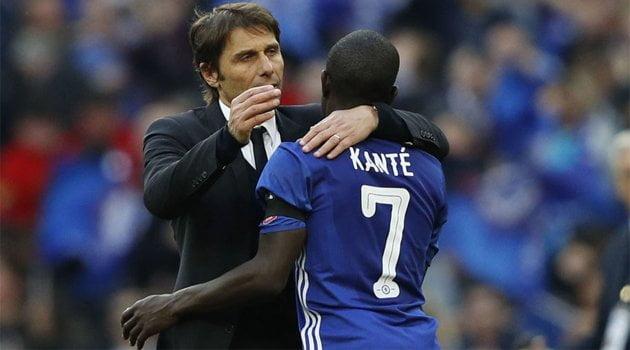 Antonio Conte, Kante (Chelsea)