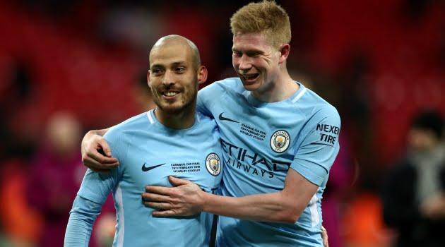 David Silva, Kevin De Bruyne (Manchester City)