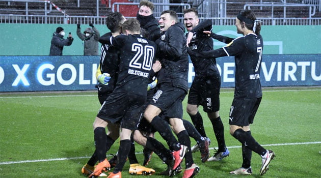 Holstein Kiel a eliminat-o pe Bayern din Cupa Germaniei după loviturile de departajare