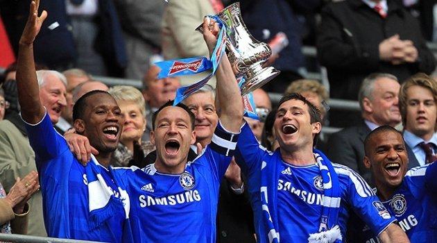 Didier Drogba, John Terry, Frank Lampard (Chelsea)