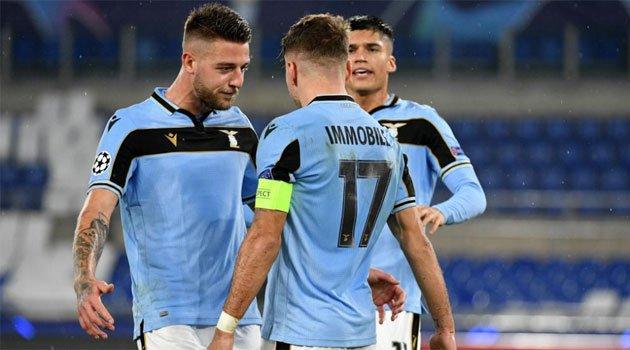 Lazio, calificată în optimile Ligii Campionilor 2020-2021 după 2-2 cu Brugge