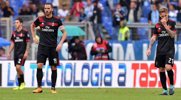 AC Milan s-a scufundat pe terenul lui Lazio, scor 1-4