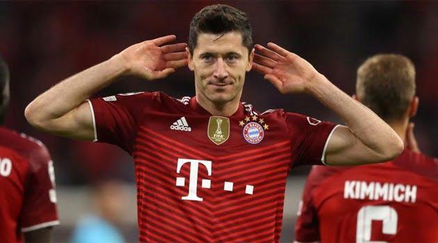 Lewandowski, dublă în meciul Bayern - Dynamo Kiev 5-0