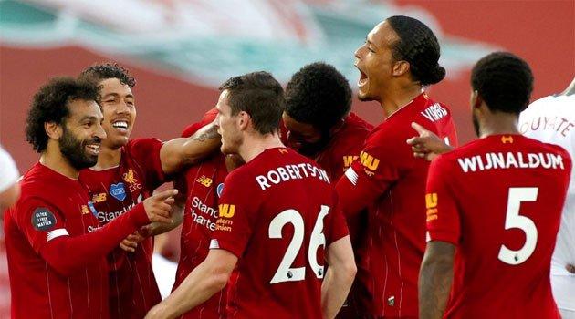 Liverpool, campioana Angliei 2019-2020
