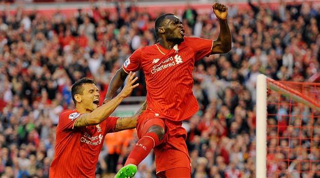 Benteke a marcat unicul gol al meciului Liverpool - Bournemouth]