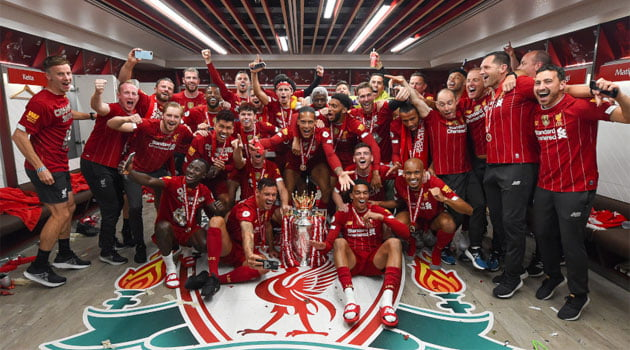 Liverpool, campioana Premier League 2019-2020