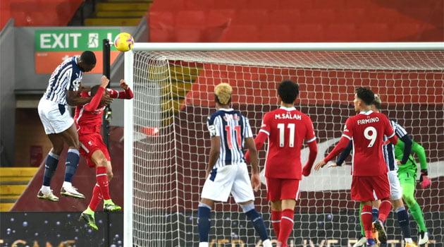 Ajayi a egalat pentru West Brom în meciul cu Liverpool, scor 1-1