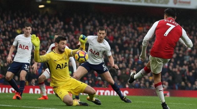 Hugo Lloris, Arsenal - Tottenham 2-0