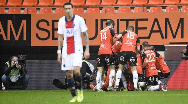 Lorient - PSG 3-1 (31 ianuarie 2021)