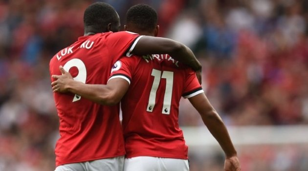 Romelu Lukaku, Anthony Martial (Manchester United)
